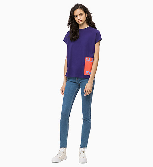 CALVIN KLEIN JEANS CKJ 011 Mid Rise Skinny Jeans - MARALINGA BLUE - CALVIN KLEIN JEANS CLOTHES - main image 1