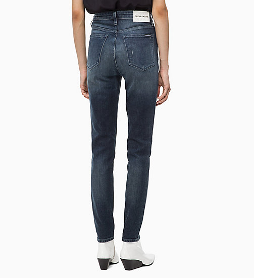 CALVIN KLEIN JEANS CKJ 010 High Rise Skinny Jeans - GAMBIER BLUE - CALVIN KLEIN JEANS NEW IN - main image 1
