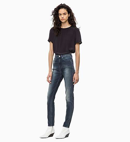 CALVIN KLEIN JEANS CKJ 010 High Rise Skinny Jeans - GAMBIER BLUE - CALVIN KLEIN JEANS KLEIDUNG - main image 1