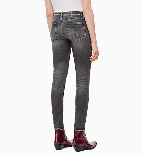 CALVIN KLEIN JEANS CKJ 011 Mid Rise Skinny Jeans - HUTT BLACK - CALVIN KLEIN JEANS KLEIDUNG - main image 1