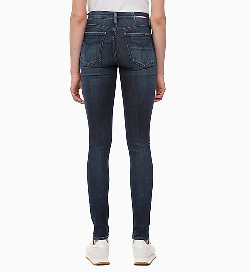 CALVIN KLEIN JEANS CKJ 011 Mid Rise Skinny Jeans - AUGUSTA BLUE - CALVIN KLEIN JEANS SKINNY JEANS - detail image 1