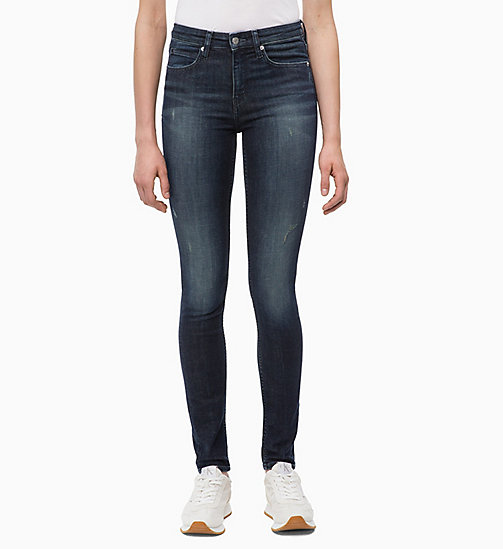 CALVIN KLEIN JEANS CKJ 011 Mid Rise Skinny Jeans - AUGUSTA BLUE - CALVIN KLEIN JEANS KLEIDUNG - main image