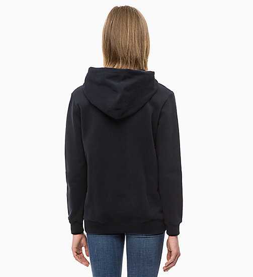 CALVIN KLEIN JEANS Logo Hoodie - CK BLACK - CALVIN KLEIN JEANS ALL GIFTS - detail image 1