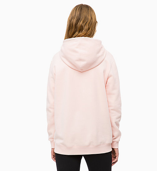CALVIN KLEIN JEANS Logo Hoodie - CHINTZ ROSE - CALVIN KLEIN JEANS CLOTHES - detail image 1