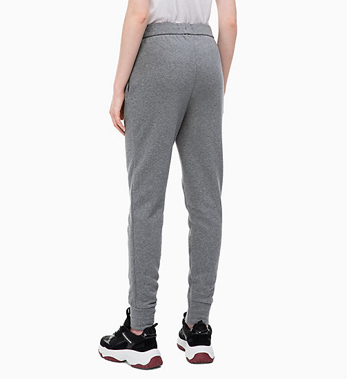 CALVIN KLEIN JEANS Joggers - MID GREY HEATHER - CALVIN KLEIN JEANS JOGGING BOTTOMS - detail image 1
