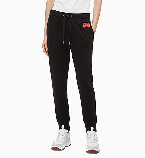 CALVIN KLEIN JEANS Joggers - CK BLACK - CALVIN KLEIN JEANS IN THE THICK OF IT FOR HER - main image
