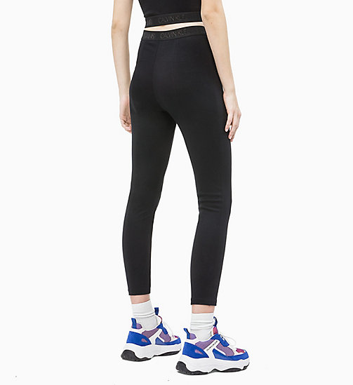 CALVIN KLEIN JEANS Leggings aus Milano-Jersey - CK BLACK - CALVIN KLEIN JEANS IN THE THICK OF IT FOR HER - main image 1
