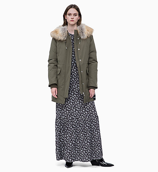 CALVIN KLEIN JEANS Daunen-Parka - GRAPE LEAF - CALVIN KLEIN JEANS CLOTHES - main image 1
