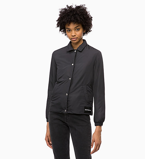 CALVIN KLEIN JEANS Padded Shirt Jacket - CK BLACK - CALVIN KLEIN JEANS NEW IN - main image