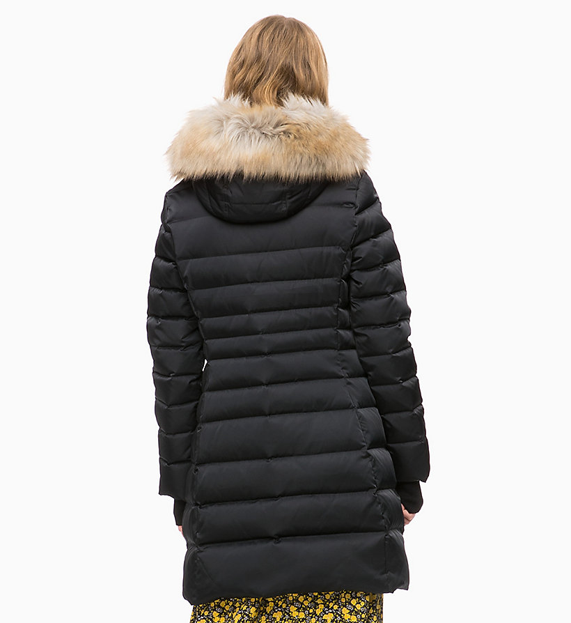 CALVIN KLEIN JEANS Quilted Down Parka Jacket - OATMEAL - CALVIN KLEIN JEANS WOMEN - detail image 1