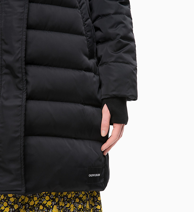 CALVIN KLEIN JEANS Quilted Down Parka Jacket - OATMEAL - CALVIN KLEIN JEANS WOMEN - detail image 2