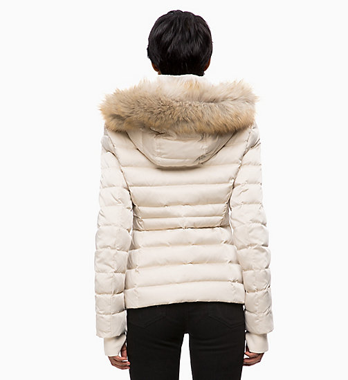 CALVIN KLEIN JEANS Quilted Down Jacket - OATMEAL - CALVIN KLEIN JEANS NEW IN - detail image 1