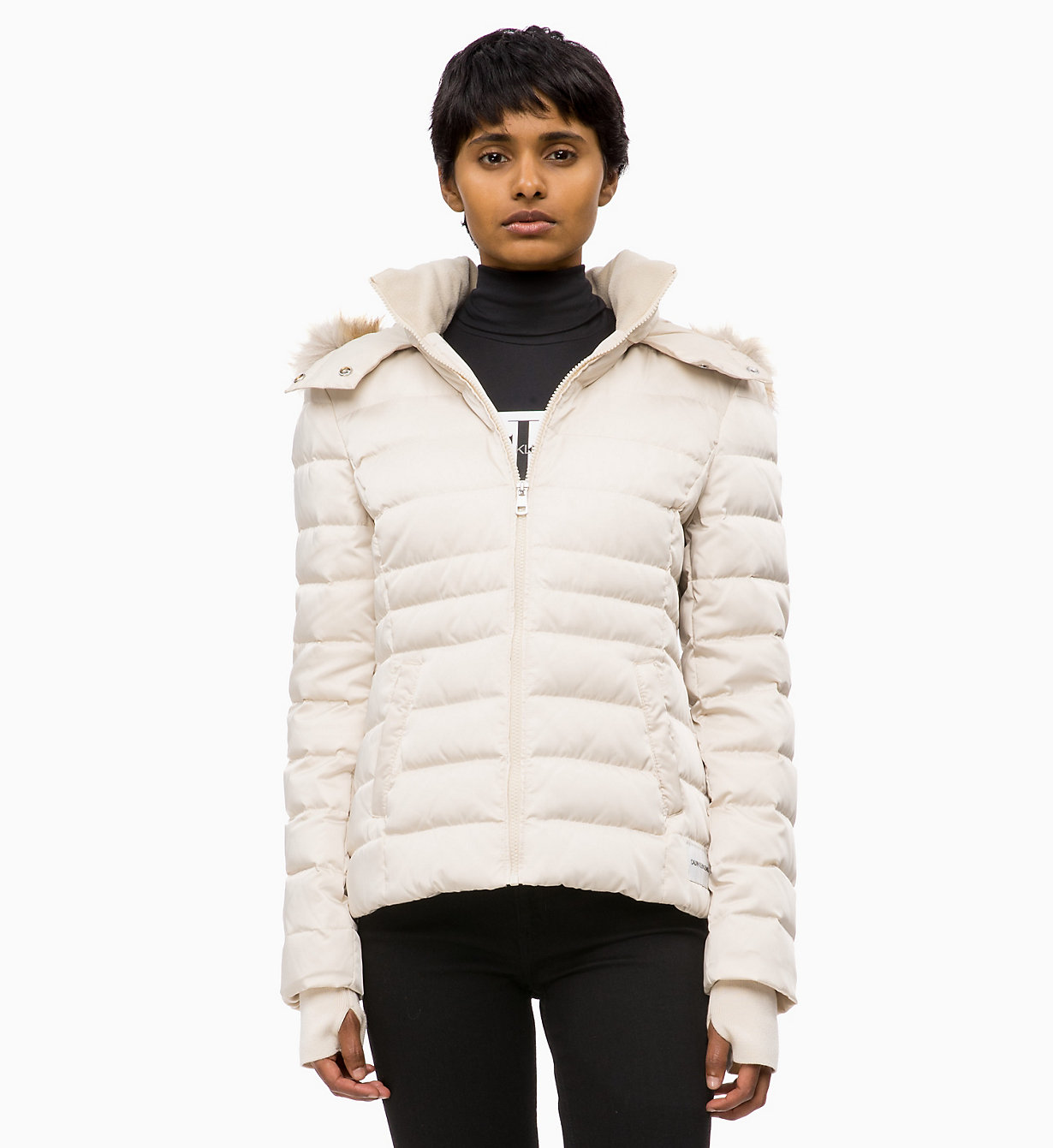 Quilted Down Jacket by Calvin Klein Jeans