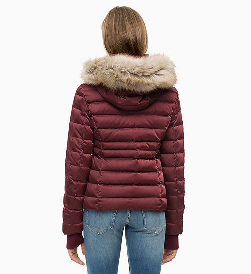 CALVIN KLEIN JEANS Quilted Down Jacket - TAWNY PORT - CALVIN KLEIN JEANS NEW IN - detail image 1