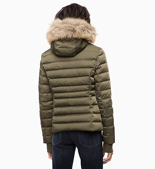 CALVIN KLEIN JEANS Quilted Down Jacket - GRAPE LEAF - CALVIN KLEIN JEANS NEW IN - detail image 1