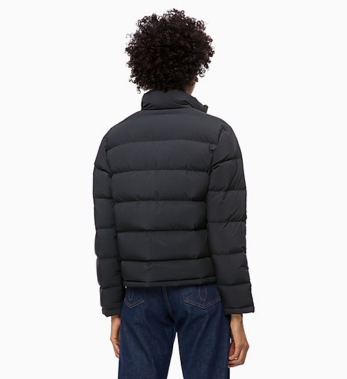 CALVIN KLEIN JEANS Down Short Puffer Jacket - CK BLACK - CALVIN KLEIN JEANS NEW IN - detail image 1