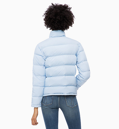 CALVIN KLEIN JEANS Down Short Puffer Jacket - CHAMBRAY BLUE - CALVIN KLEIN JEANS NEW IN - detail image 1