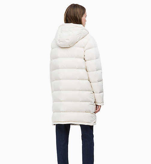 CALVIN KLEIN JEANS Down Puffer Coat - EGRET - CALVIN KLEIN JEANS NEW IN - detail image 1