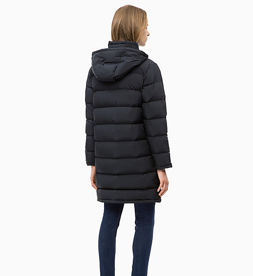 CALVIN KLEIN JEANS Puffer-Daunenmantel - CK BLACK - CALVIN KLEIN JEANS IN THE THICK OF IT FOR HER - main image 1