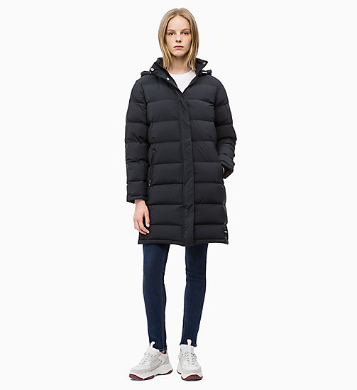 CALVIN KLEIN JEANS Down Puffer Coat - CK BLACK - CALVIN KLEIN JEANS IN THE THICK OF IT FOR HER - detail image 1