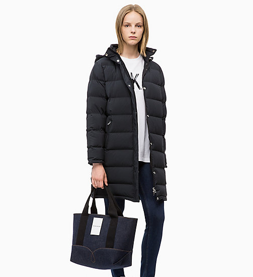 CALVIN KLEIN JEANS Puffer-Daunenmantel - CK BLACK - CALVIN KLEIN JEANS IN THE THICK OF IT FOR HER - main image