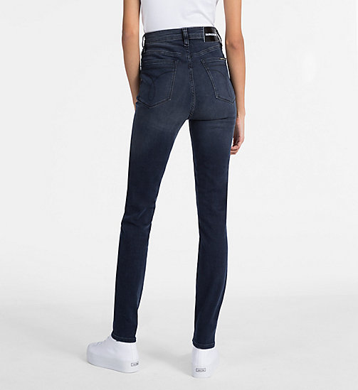 CALVIN KLEIN JEANS CKJ 010 High Rise Skinny Jeans - MILAN BLUE BLACK - CALVIN KLEIN JEANS THE DENIM INDEX - image détaillée 1