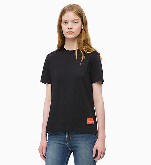 CALVIN KLEIN JEANS Boxy  T-shirt - CK BLACK - CALVIN KLEIN JEANS NEW IN - main image