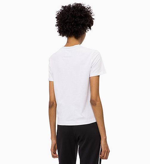 CALVIN KLEIN JEANS Hoekig T-shirt - BRIGHT WHITE - CALVIN KLEIN JEANS The New Off-Duty - detail image 1