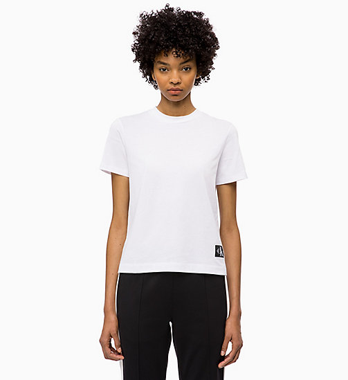 CALVIN KLEIN JEANS Boxy T-Shirt - BRIGHT WHITE - CALVIN KLEIN JEANS The New Off-Duty - main image