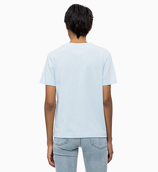 CALVIN KLEIN JEANS Boxy  T-shirt - CHAMBRAY BLUE - CALVIN KLEIN JEANS NEW IN - detail image 1