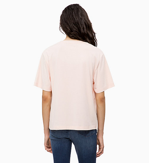 CALVIN KLEIN JEANS Boxy Floral Logo T-shirt - CHINTZ ROSE - CALVIN KLEIN JEANS NEW IN - detail image 1