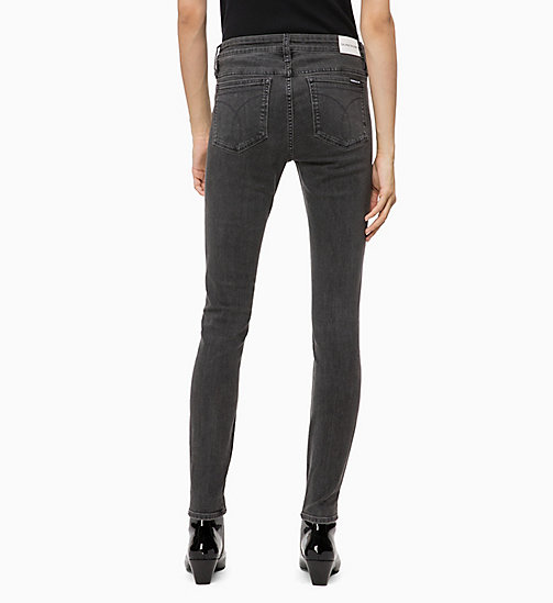 CALVIN KLEIN JEANS CKJ 001 Super Skinny Jeans - SEATTLE GREY - CALVIN KLEIN JEANS CLOTHES - main image 1
