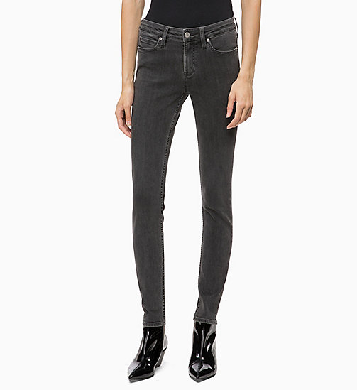 CALVIN KLEIN JEANS CKJ 001 Super Skinny Jeans - SEATTLE GREY - CALVIN KLEIN JEANS ДЖИНСЫ SKINNY - главное изображение