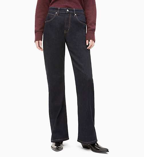 CALVIN KLEIN JEANS CKJ 070 High Rise Bootcut Jeans - JENNA RINSE - CALVIN KLEIN JEANS CLOTHES - main image