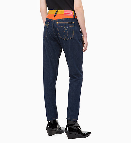 CALVIN KLEIN JEANS CKJ 020 High Rise Slim Blocked Jeans - BANJO BLOCKED - CALVIN KLEIN JEANS FALL DREAMS - detail image 1
