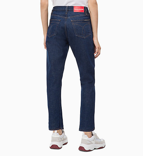CALVIN KLEIN JEANS CKJ 020 High Rise Slim Ankle Jeans - OMEGA RINSE - CALVIN KLEIN JEANS FALL DREAMS - detail image 1