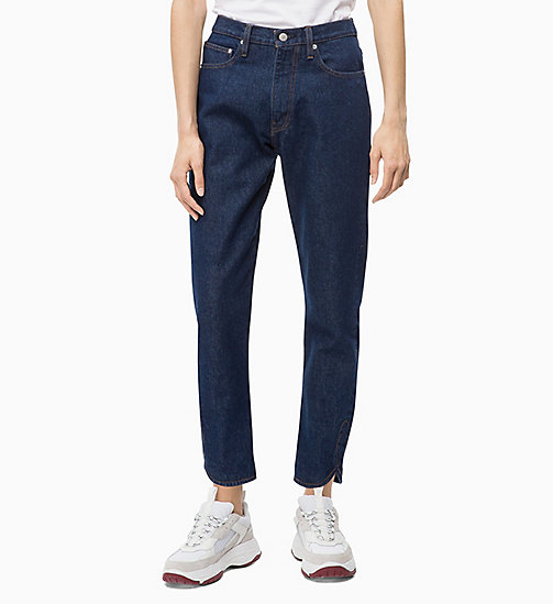 CALVIN KLEIN JEANS CKJ 020 High Rise Slim Ankle Jeans - OMEGA RINSE - CALVIN KLEIN JEANS NEW ICONS - main image