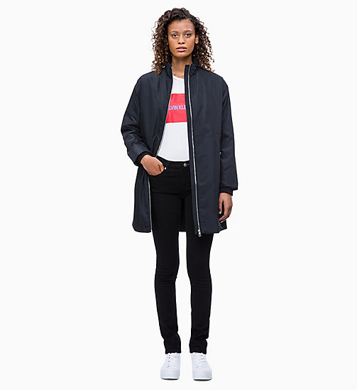 CALVIN KLEIN JEANS Padded Zip-Through Coat - CK BLACK - CALVIN KLEIN JEANS COATS - detail image 1