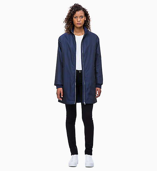CALVIN KLEIN JEANS Padded Zip-Through Coat - PEACOAT - CALVIN KLEIN JEANS COATS - detail image 1