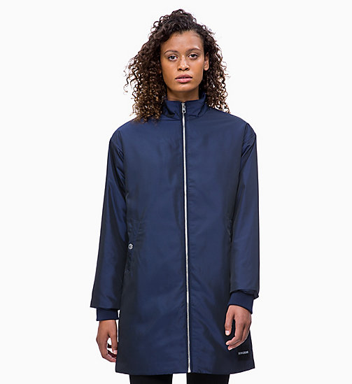 CALVIN KLEIN JEANS Padded Zip-Through Coat - PEACOAT - CALVIN KLEIN JEANS COATS - main image