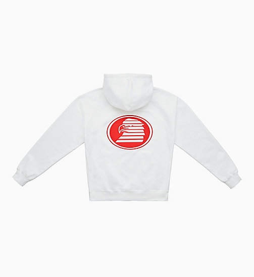CALVIN KLEIN JEANS Graphic Hoodie - BRIGHT WHITE / EAGLE - CALVIN KLEIN JEANS TOPS - detail image 1