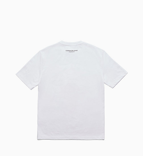 CALVIN KLEIN JEANS Printed T-shirt - BRIGHT WHITE / EAGLE - CALVIN KLEIN JEANS TOPS - detail image 1