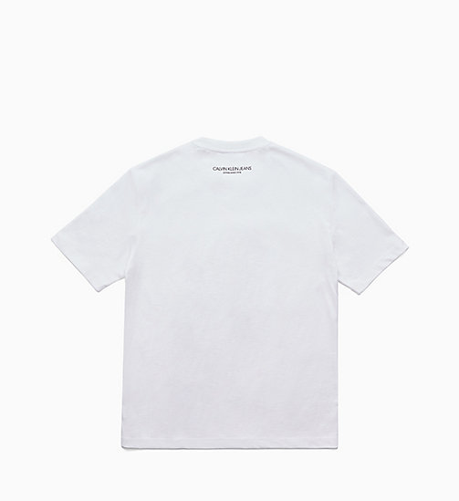 CALVIN KLEIN JEANS Printed T-shirt - BRIGHT WHITE / FIST LADY - CALVIN KLEIN JEANS TOPS - detail image 1