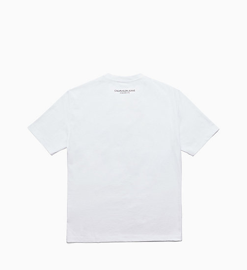 CALVIN KLEIN JEANS Printed T-shirt - BRIGHT WHITE / OK - CALVIN KLEIN JEANS VIEW ALL - detail image 1