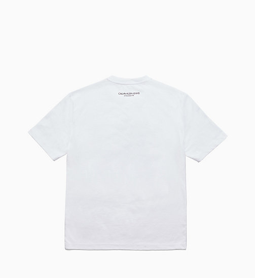 CALVIN KLEIN JEANS Printed T-shirt - BRIGHT WHITE / STARS - CALVIN KLEIN JEANS TOPS - detail image 1