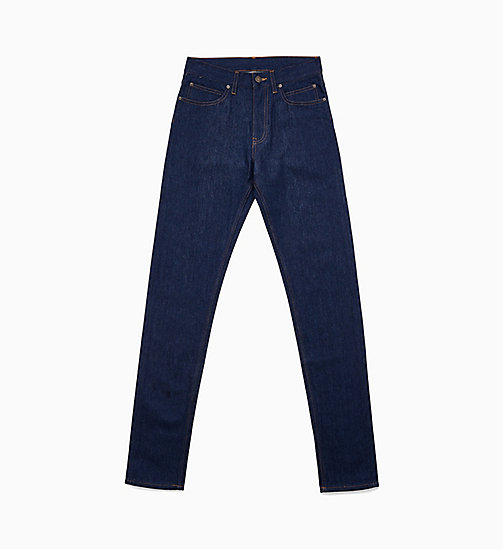 CALVIN KLEIN JEANS Jeans met smalle pijpen - PANEL RINSE INDIGO -  JEANS - main image