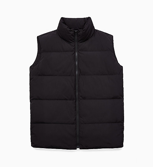 CALVIN KLEIN JEANS Puffer Gilet - CK BLACK -  JACKETS - main image