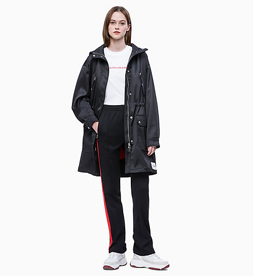 CALVIN KLEIN JEANS 2-in-1 Satin Parka - CK BLACK - CALVIN KLEIN JEANS NEW IN - detail image 1