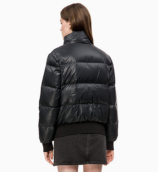 CALVIN KLEIN JEANS Down Puffer Jacket - CK BLACK -  NEW IN - detail image 1