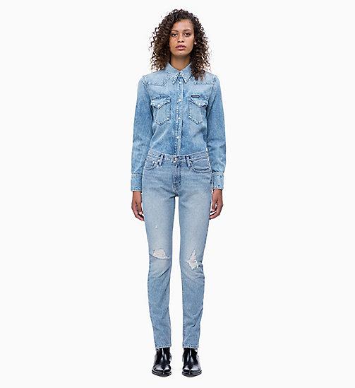 ... CALVIN KLEIN JEANS Western Denim Shirt - NIKKI BLUE - CALVIN KLEIN JEANS  CLOTHES - detail fbbec71b9467